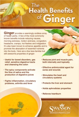At the peak of a migraine, eat raw ginger. It takes the pain away. Add salt and or lemon juice to help with taste if desired. For RA, mash apx. 1 ounce ginger, pour hot water over it, add sweetener if needed and drink on empty stomach first thing in the AM. May take more during the day if needed.