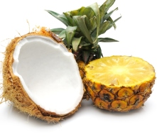 Raw Pineapple or Coconut on an empty stomach in the mornings, gets rid of parasites.